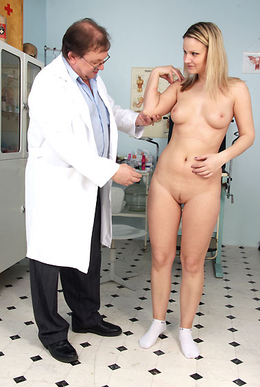 Samantha Jolie gyno pussy exam video HD