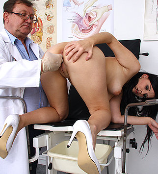 Tags: gyno, gynecological, medical, doctor, bizarre, examination, pussy, douche, close ups, speculum, specula, pussy spreader, pelvic, pelvic exam, old and young
