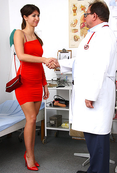 Susan Ayn gyno pussy exam video HD