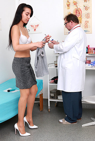 Taisia pussy exam video HD