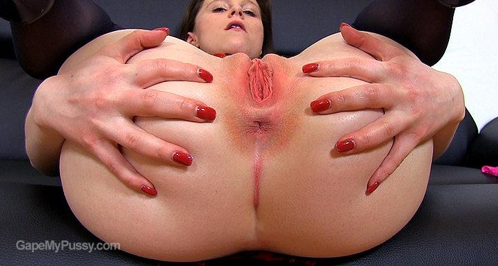 Tania pussy gape HD video