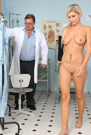 Vanessa Hell gyno pussy exam video HD