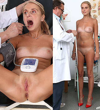Tags: gyn, gyno, gynecological, gynecology, extreme, examination, vagina, close ups, up close, hospital, physical, patient, pelvic exam, physical exam, daddy, old and young, natural tits, hot legs, fucking machine, doctor pat