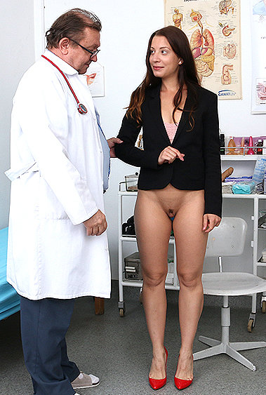 Therese Bizarre gyno pussy exam video HD